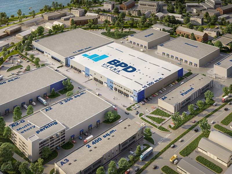 БПД успешно завърши строителството на най-голямата сграда в логистичен парк БПД Варна